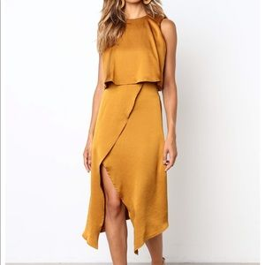 Petal and Pup Sloane Dress in Amber. NWT. Size 6